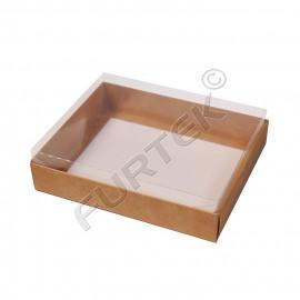 Коробка ПВХ пластик/гофра