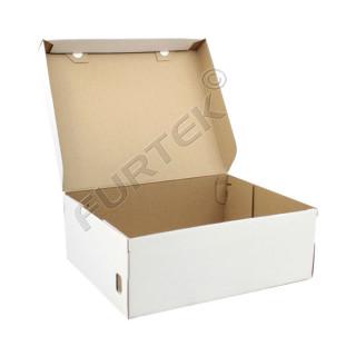 Коробка для обуви белая