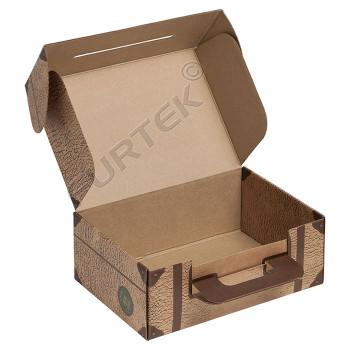 Коробка «Чемодан» с ручкой