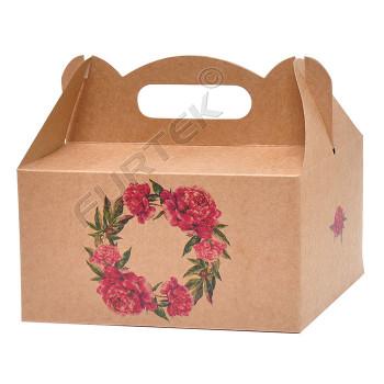 Коробка-чемодан типа «Ласточкин хвост»