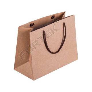 Крафт-пакет с веревочными ручками