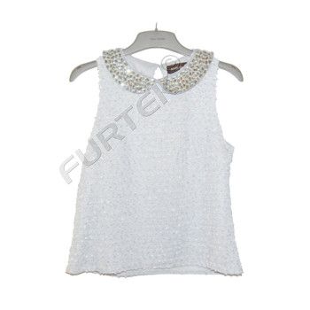 Пластиковая вешалка с логотипом для блузок, курток, брюк 39 см
