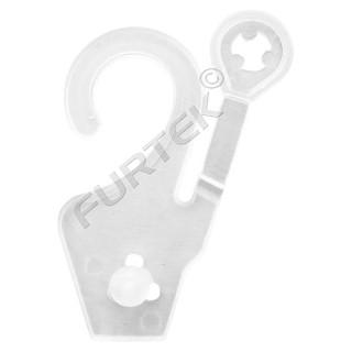 Вешалки-крючки с защёлкой для коробочек и пакетов