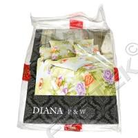 Картонная вкладка в упаковку постельного белья с печатью