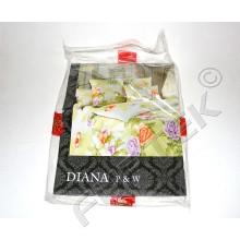 Картонная вкладка в упаковку постельного белья 470х270 мм с печатью