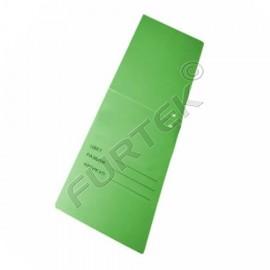 Картонные бирки 75х275 мм с отверстием