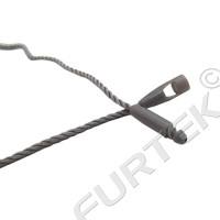 Биркодержатель веревочный HF010 с пластиковым замком-защёлкой