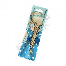 Подвесная картонная бирка с евроотверстием для заколок и бантов для волос