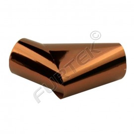 Фольга коричневая металлизированная для горячего тиснения