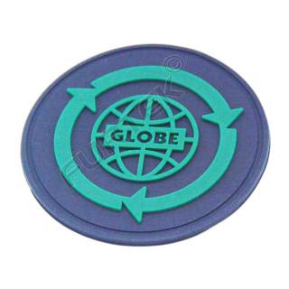 Резиновая круглая этикетка диаметр 30 мм
