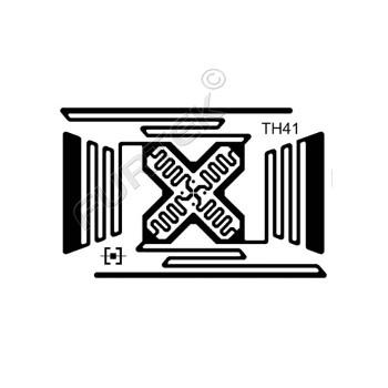 """Самоклеящиеся RFID метки Trace TH41 """"CABIS"""" (M4D/M4QT/M4E)"""