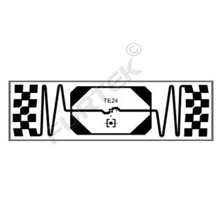 """Самоклеющиеся RFID метки Trace TE24 """"ApparelTrace"""" (M4D/M4QT/M4E)"""