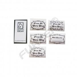 Стикер 30х70 мм для маркировки одежды