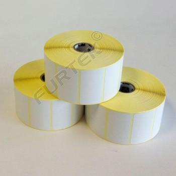 Самоклеящиеся термотрансферные этикетки матовая бумага Zebra Z Perform 1000T