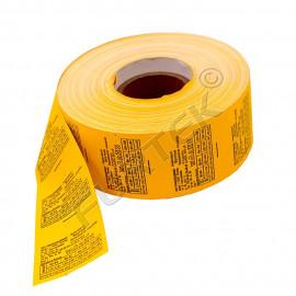 Печатные этикетки из тафты