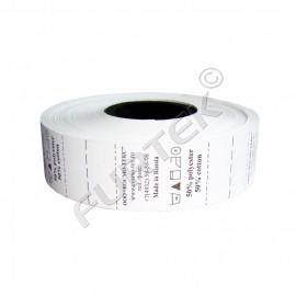 Печатные этикетки полиэстеровые