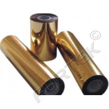 Фольга золотая металлизированная для горячего тиснения