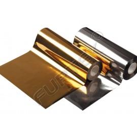 Фольга золотая яркая металлизированная для горячего тиснения