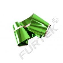 Фольга зеленая металлизированная  для горячего тиснения
