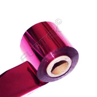 Фольга для горячего тиснения малиновая металлизированная
