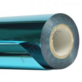 Фольга для горячего тиснения синяя металлизированная