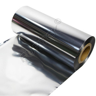 Фольга для горячего тиснения серебряная металлизированная