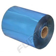 Фольга синяя металлизированная  для горячего тиснения
