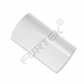 Фольга для горячего тиснения белая металлизированная