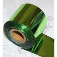 Фольга салатовая металлизированная  для горячего тиснения