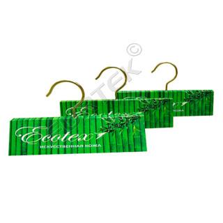 Хангер для ткани из мелованной или дизайнерской бумаги