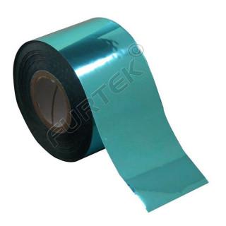 Фольга для горячего тиснения бирюзовая металлизированная