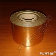 Фольга оранжевая металлизированная  для горячего тиснения