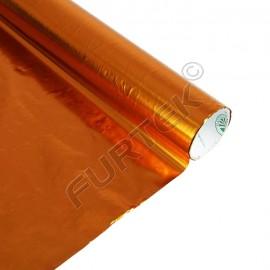 Фольга для горячего тиснения оранжевая металлизированная