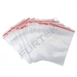 Пакет с застежкой zip-lock 10х15см прозрачный плотный