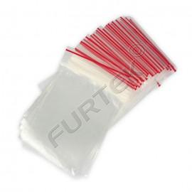 Пакет с застежкой zip-lock 10х15см прозрачный