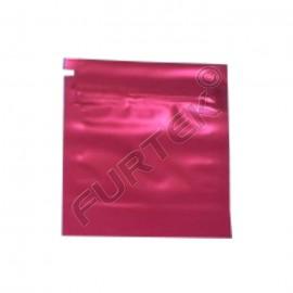 Пакет с застежкой zip-lock 5х7см вишневый металлик