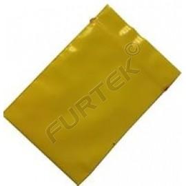 Пакет с застежкой zip-lock 8х10см желтый