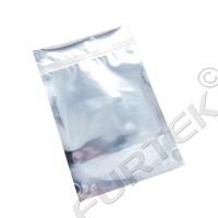 Пакет с застежкой zip-lock 60x70мм серебристого цвета
