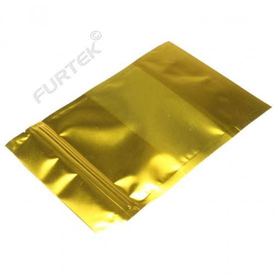 Пакет с застежкой zip-lock 8х10см желтый купить оптом в ...