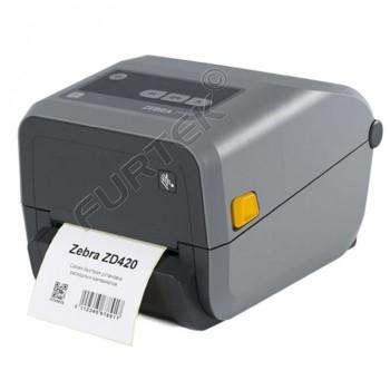 Zebra zd420  термотрансферный принтер печати этикеток