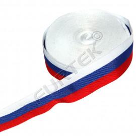 """Тканая лента """"Российский триколор"""" 50 м, 100 м"""