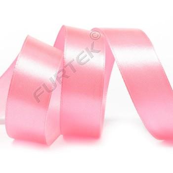 Лента сатиновая матовая светло-розовая 100 м, 200 м, 400 м