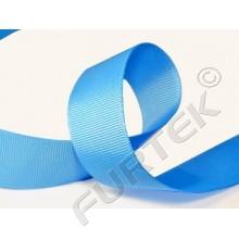Лента репсовая 10 мм голубая премиум 100 м