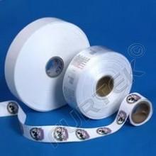 Белая полиэстеровая лента марки РТ 701 S тонкая 100 м, 200м, 400 м