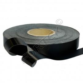 Лента клеевая сатиновая марки PS 961 (N)  черная 100 м, 200 м
