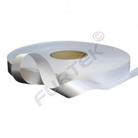 Сатиновая клеевая лента белая марки PS 961 NS в намотке 100 м, 200 м