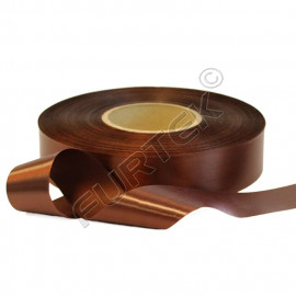 Лента сатиновая коричневая 100 м, 200 м, 400 м