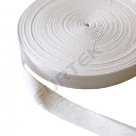Киперная лента с полотняным плетением белая 100 м, 200 м, 400 м