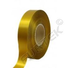 Лента сатиновая золотистая 100 м, 200 м, 400 м.