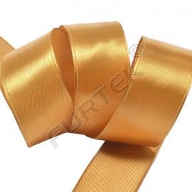 Лента сатиновая золотистая 100 м, 200 м, 400 м